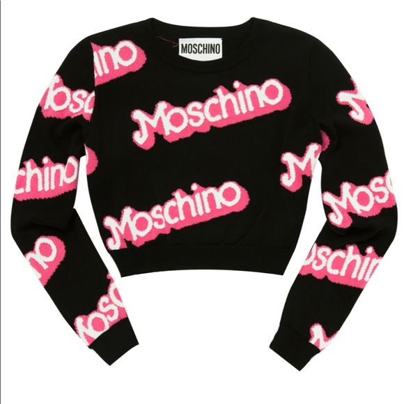 daf1f715ee15e Moschino Barbie Collection ~ Crop Top. M 5c65c681a31c33bcd17989fd